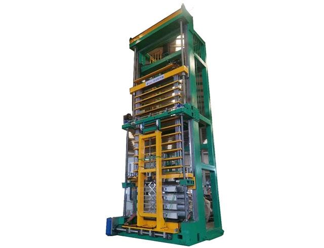 伺服微收缩立式胀管机